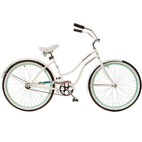 Titan ® Docksider Beach Cruiser, Green Wheels