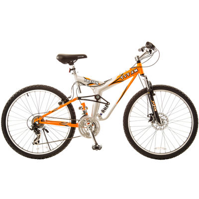 Titan® Fusion-Pro Suspension Mountain Bike