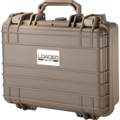 Loaded Gear HD-200 WT Protective Hard Case w/ FoamDark Earth