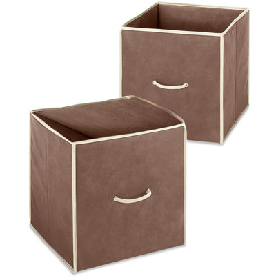 "Whitmor 14"" Collapsible Storage Cube"