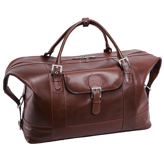 Mcklein Siamod Amore Leather Duffel Bag Luggage