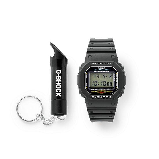 Casio G-Shock Mens Digital Black Strap Watch-Dw5600e-1f