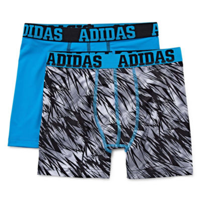 Adidas 2 Pack Boxer Briefs - Boys 8-20
