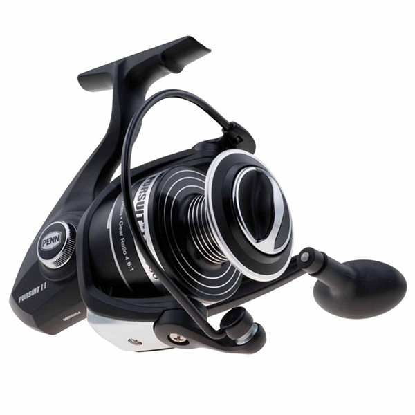 "Penn Pursuit II Spinning Reel Reel 6000 4.6:1 GearRatio 27"" Retrieve Rate 20 lb Max Drag Ambidextrous Boxed"""