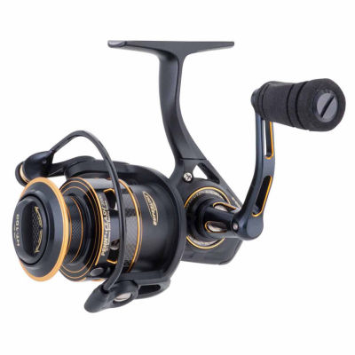 "Penn Clash Spinning Reel 2500 Size 6.2:1 Gear Ratio 33"" Retrieve Rate 12 lbs Max Drag Ambidextrous"""