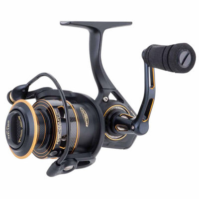 "Penn Clash Spinning Reel 8000 Size 4.7:1 Gear Ratio 40"" Retrieve Rate 30 lbs Max Drag Ambidextrous"""
