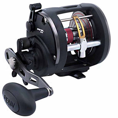"Penn Warfare Level Wind Conventional Reel 15 5.1:1Gear Ratio 29"" Retrieve Rate 15 lb Max Drag RightHand Boxed"""