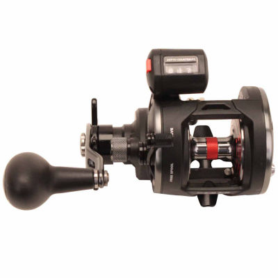 "Penn Warfare Level Wind Conventional Reel 15 5.1:1Gear Ratio 29"" Retrieve Rate 15 lb Max Drag LeftHand Boxed """