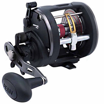 "Penn Warfare Level Wind Conventional Reel 20 5.1:1Gear Ratio 29"" Retrieve Rate 15 lb Max Drag RightHand Clam Pack"""