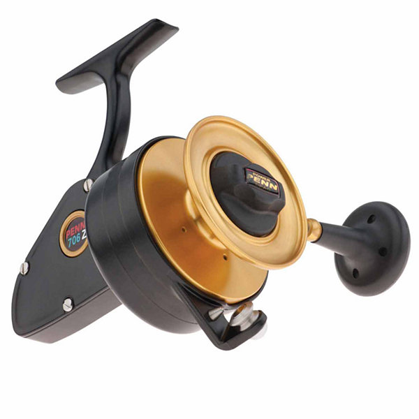 "Penn Z-Series Spinning Reel 706 3.8:1 Gear Ratio 33"" Retrieve Rate 15 lb Max Drag 3 Bearing Left Hand"""