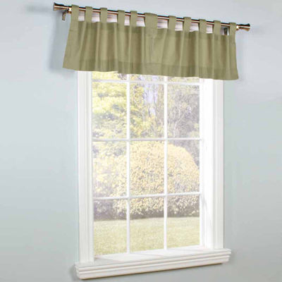 Weathermate Tab-Top Tailored Valance