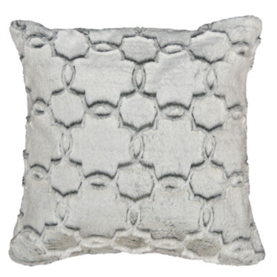Tile Fur Square Throw Pillow - 2 Pack