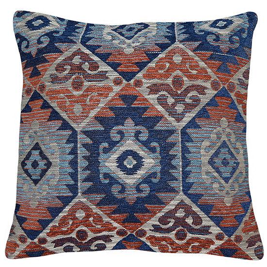 Menuetto Square Throw Pillow