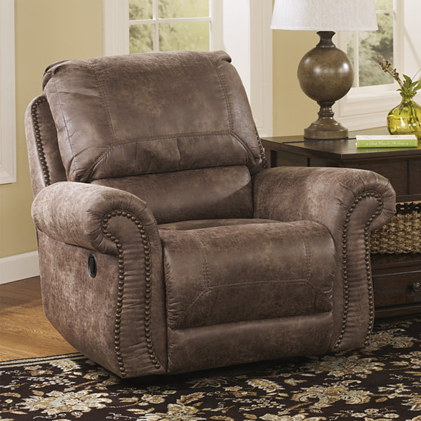 Signature Design By Ashley® Oberson Faux Leather Recliner