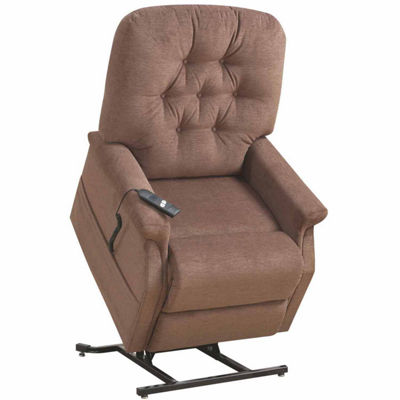 Home Meridian Button Tufted Lift Lift Pad-Arm Recliner