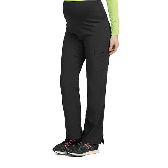 Med Couture 8727 Plus One Maternity Cargo Scrub Pants - Plus