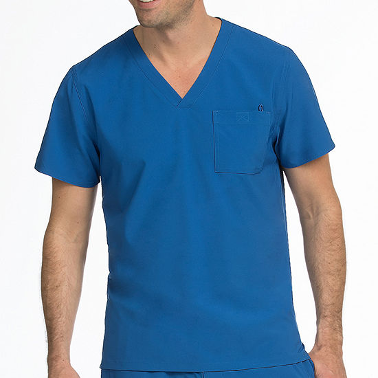 Med Couture 8530 Mens Activate Stretch V-neck Scrub Top