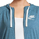 Nike® Long Sleeve Gym Vintage Hoodie - Plus