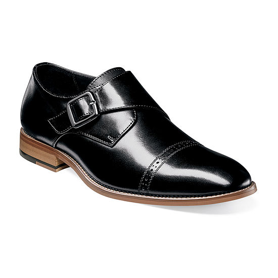 Stacy Adams Mens Desmond Monk-Strap Slip-On Shoe