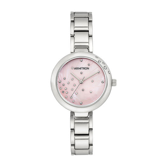 Armitron Armitron Womens Silver Tone Bracelet Watch-75/5588pmsv