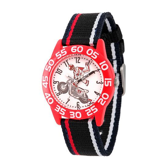 Disney Toy Story Boys Black Strap Watch-Wds000699
