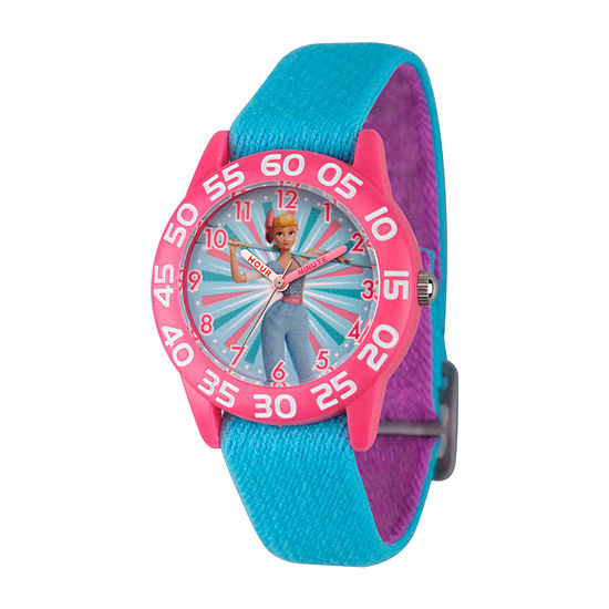 Toy Story Girls Blue Strap Watch-Wds000700
