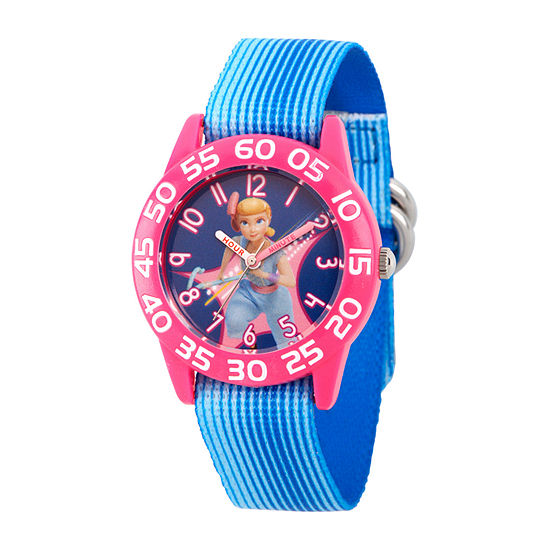 Disney Toy Story Girls Blue Strap Watch-Wds000702