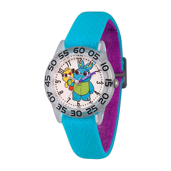 Disney Toy Story Boys Blue Strap Watch-Wds000703