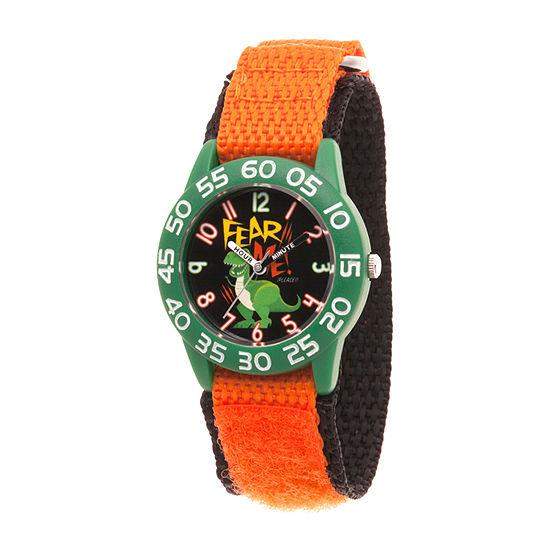 Disney Toy Story Boys Orange Strap Watch-Wds000705