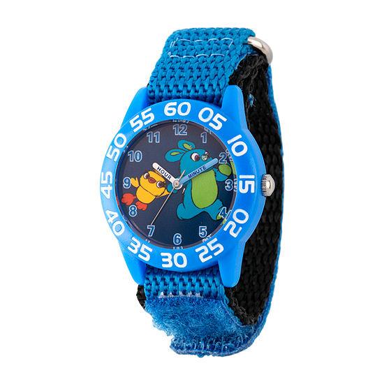 Disney Toy Story Boys Blue Strap Watch-Wds000708