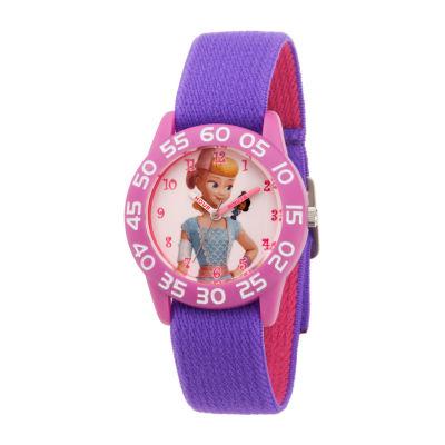 Disney Toy Story Girls Purple Strap Watch-Wds000709