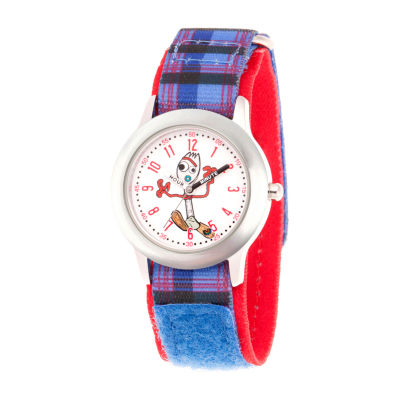 Disney Toy Story Boys Purple Strap Watch-Wds000717