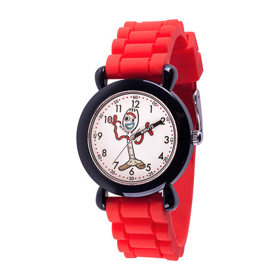 Disney Collection Toy Story Boys Red Strap Watch-Wds000723