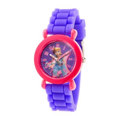 Disney Toy Story Girls Purple Strap Watch-Wds000724