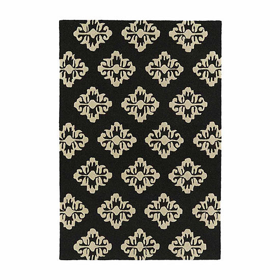 Kaleences Damask Rectangular Rug