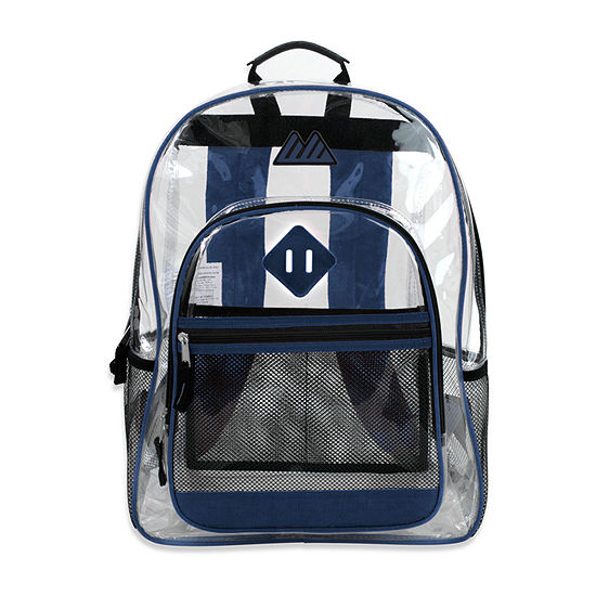 Summit Ridge Clear Backpack With Mesh