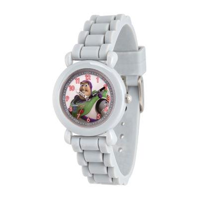 Disney Toy Story Boys Gray Strap Watch-Wds000725
