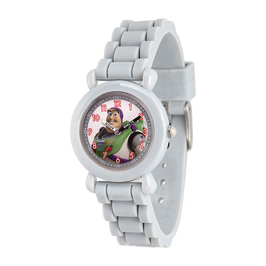 Toy Story Boys Gray Strap Watch-Wds000725