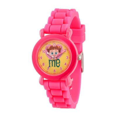 Disney Toy Story Girls Pink Strap Watch-Wds000727