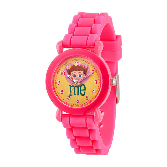 Disney Toy Story Girls Pink Strap Watch-Wds000727