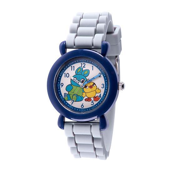 Disney Toy Story Boys Gray Strap Watch-Wds000728
