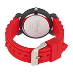 Disney Collection Toy Story Boys Red Strap Watch-Wds000729