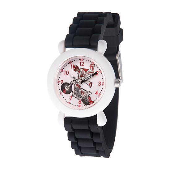 Disney Toy Story Boys Black Strap Watch-Wds000730