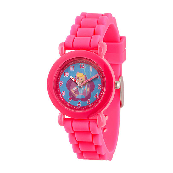 Disney Toy Story Girls Pink Strap Watch-Wds000732
