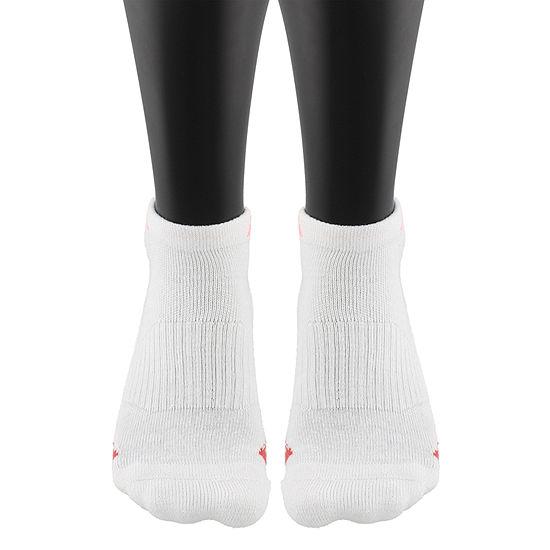 adidas Cushioned 3 Pair Low Cut Socks - Womens