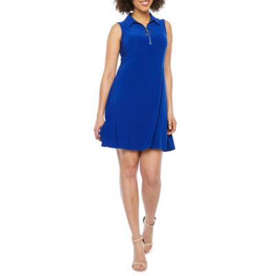 MSK Sleeveless Swing Dresses