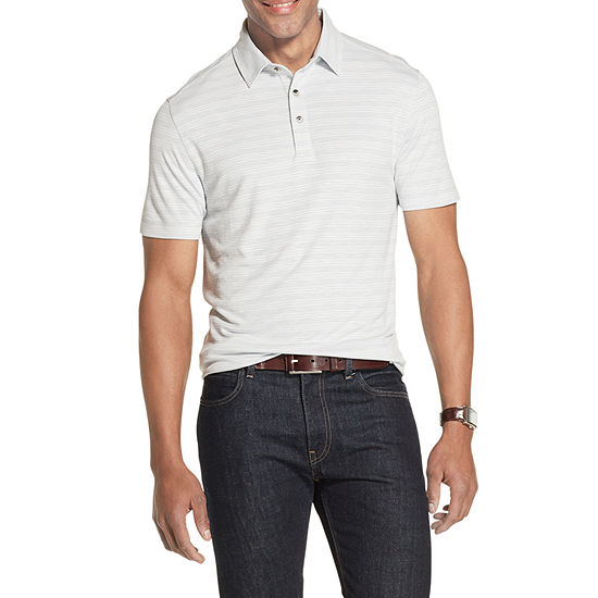 Van Heusen Air Polo Mens Cooling Short Sleeve Polo Shirt