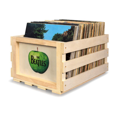 Crosley Record Storage Crate The Beatles