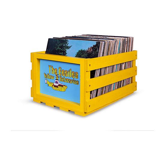 Crosley Record Storage Crate The Beatles