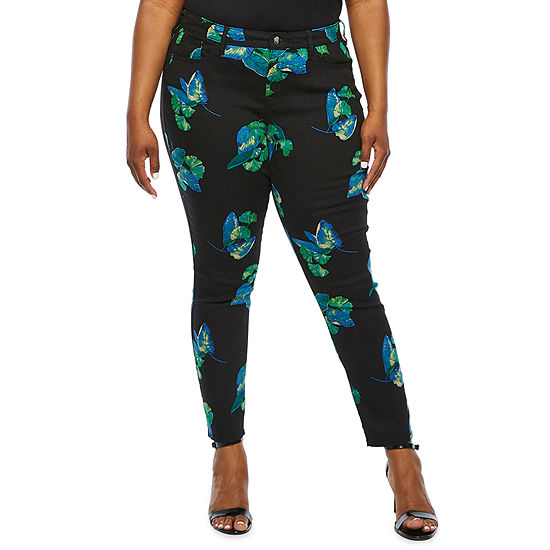 Bold Elements Womens Skinny Fit Jean - Plus